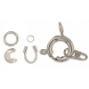 Spring Ring Clasps Kit - Silver